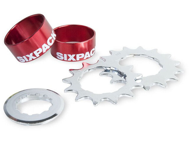 Sixpack Single Speed Kit, red